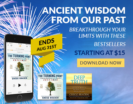 Audiobooks by Gregg Braden on Sale - Ends 8/31